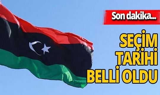 Son dakika... Libya'da seçimlerin tarihi belli oldu