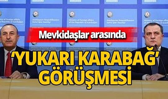 Son dakika! Mevlüt Çavuşoğlu ile  Ceyhun Bayramov kritik 'Yukarı Karabağ' görüşmesi