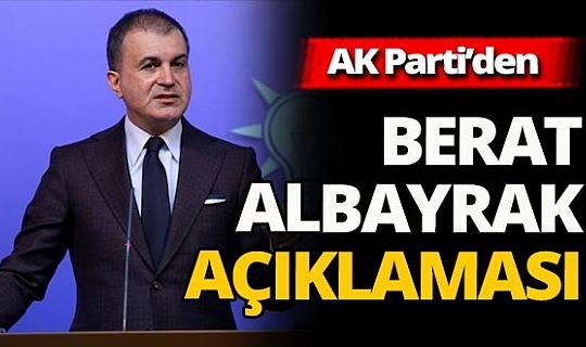 Son dakika! Ömer Çelik'ten Berat Albayrak'ın istifa paylaşımı hakkında flaş açıklama