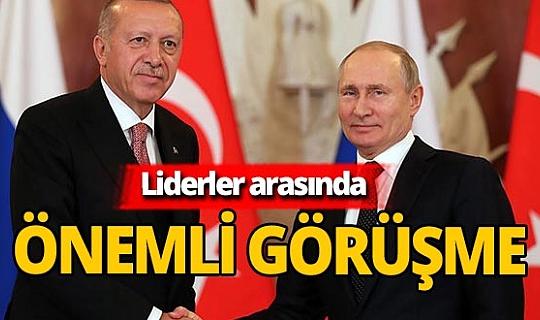 Son dakika! Recep Tayyip Erdoğan Vladimir Putin ile görüştü