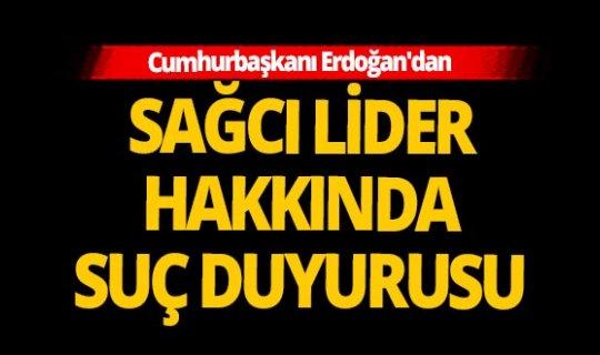 Son dakika! Skandal paylaşım sonrası Cumhurbaşkanı Erdoğan'dan suç duyurusu