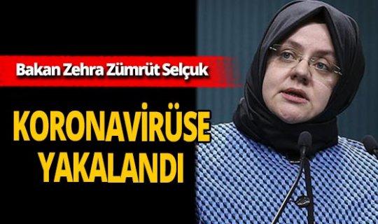 Son dakika...Aile, Çalışma ve Sosyal Hizmetler Bakanı Zehra Zümrüt Selçuk koronavirüse yakalandı