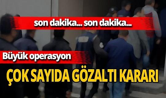 Son dakika...Ankara'da FETÖ operasyonu! 22 şüpheli hakkında gözaltı kararı verildi