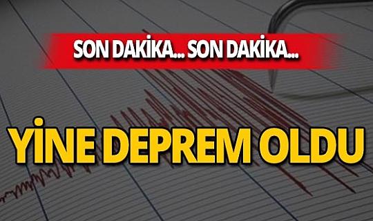 Son dakika...İstanbul'da 3.7 büyüklüğünde deprem oldu