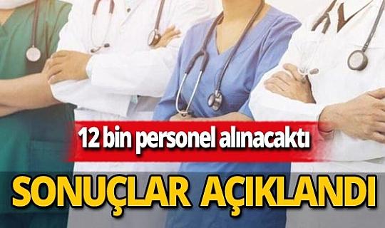 Son dakika...Sağlık Bakanlığı 12 bin personel alımı atama sonuçları açıklandı