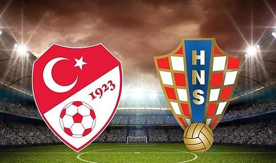 Son dakika...Türkiye-Hırvatistan karşılaşmasında ilk 11'ler belli oldu
