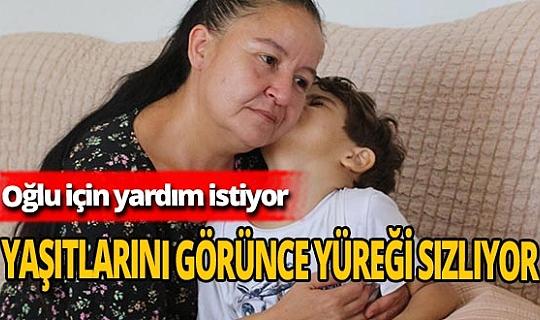 """SP hastası Halil Efe'nin annesi: """"Yaşıtları gibi koşsun, oynasın, okula gitsin istiyorum"""""""