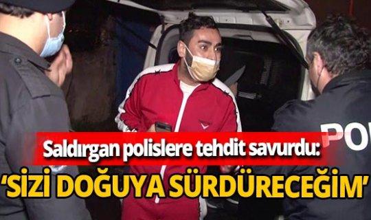Sultanbeyli'de evi kurşun yağmuruna tuttu ardından polislere tehditler savurdu