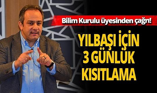 Toplum Bilimleri Kurulu üyesi Prof. Dr. Mustafa Necmi İlhan açıkladı! Yılbaşında 3 günlük kısıtlama olacak mı?