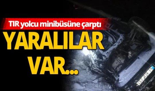 Trabzonda katliam gibi kaza! Yaralılar var...
