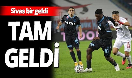 Trabzonspor - Demir Grup Sivasspor maçı sona erdi