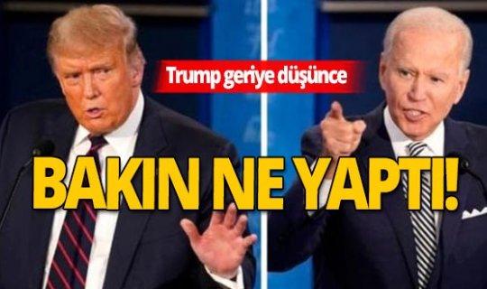 Son dakika! Trump oyların yeniden sayılmasını talep etti