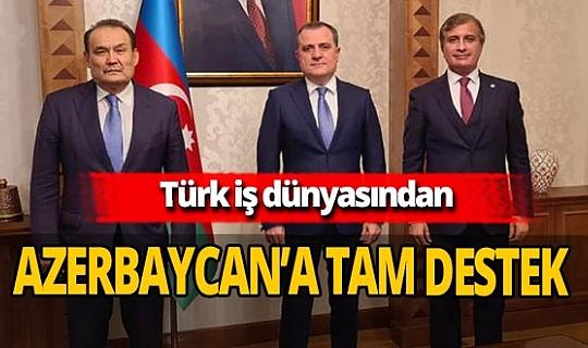 Türk iş ve ticaret dünyasından Azerbaycan'a destek