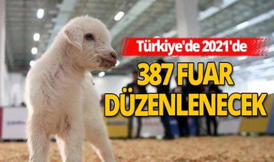Türkiye'de gelecek yılın fuar takvimi belli oldu