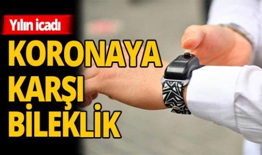 Türkiye'de ilk ! Koronaya karşı bileklik dağıtıldı
