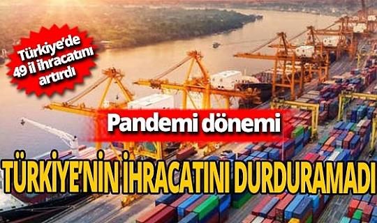 Türkiye en çok ihracatı 1 milyar 620 milyon dolar ile Almanya'ya yaptı!