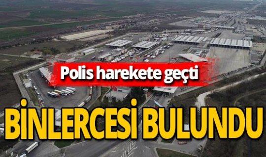 Türkiye sınırında uyuşturucu operasyonu