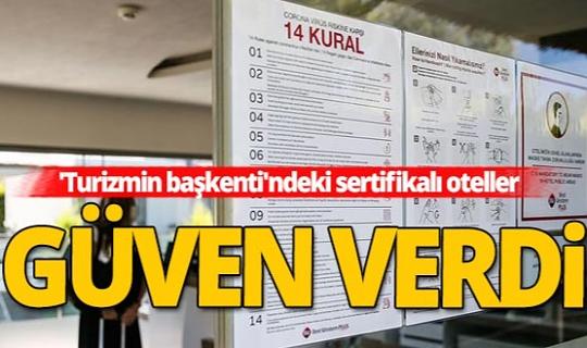 Vali Ersin Yazıcı: Turizm gelirinin üçte biri Antalya'dan