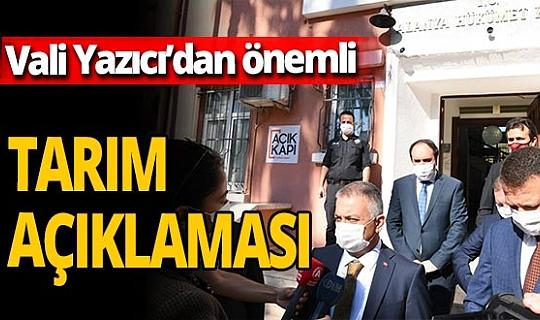 Vali Ersin Yazıcı: 'Antalya turizmin olduğu kadar tarımın da başkenti'