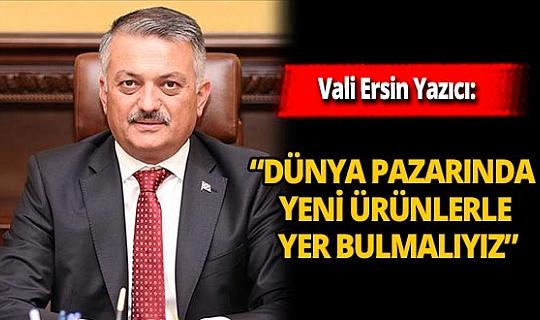 Vali Ersin Yazıcı kent ekonomisini değerlendirdi