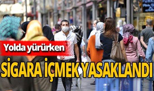 Valilik açıkladı! Bursa'da sokakta sigara içmek yasaklandı!
