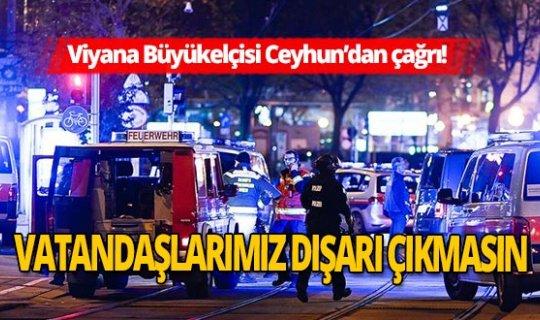 Viyana Büyükelçisi Ozan Ceyhun'dan Türklere çağrı!
