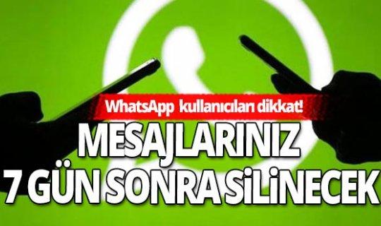 WhatsApp kullanıcıları dikkat! Bu haberi mutlaka okuyun!