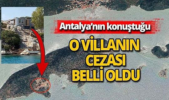 Yarımada'daki villaya hem yıkım kararı hem para cezası
