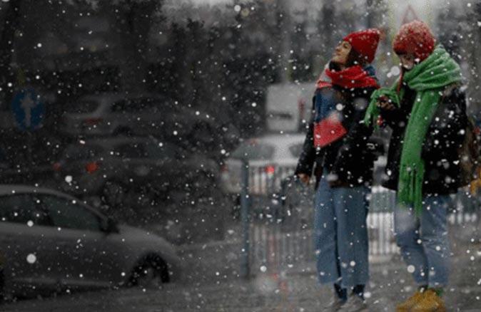 O illerde yaşayanlar dikkat! Meteoroloji'den kar uyarısı
