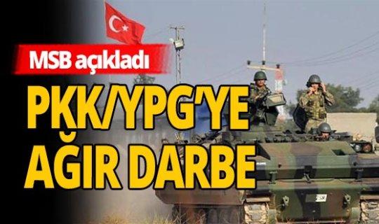 Zeytin Dalı bölgesinde 3 terörist etkisiz hale getirildi