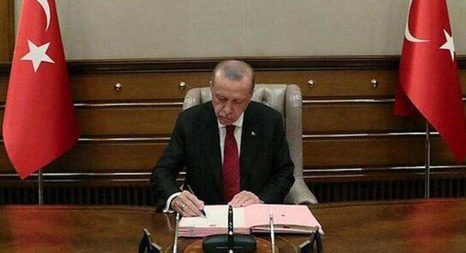 Cumhurbaşkanı Erdoğan imzaladı! Atama ve görevden alma kararları Resmi Gazete'de yayımlandı