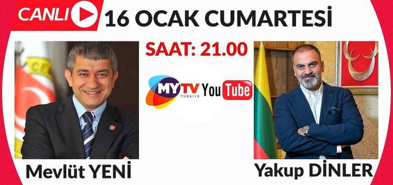 Kapadokya Otelciler Birliği Başkanı Yakup Dinler Mevlüt Yeni ile Yeni Bakış'ın konuğu oluyor