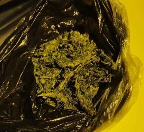 Ticari taksi içindeki uyuşturucu çıktı