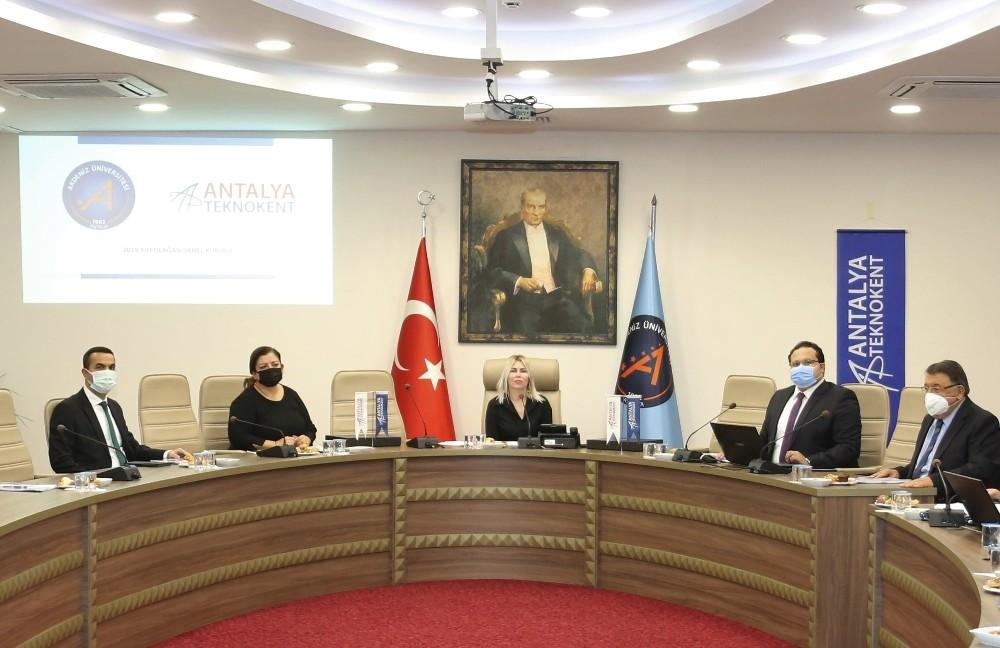 AÜ Antalya Teknokent genel kurulu gerçekleştirildi