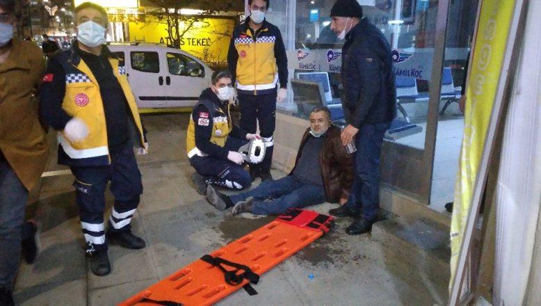 Ehliyetsiz sürücü dehşet saçtı 4 kişi yaralandı