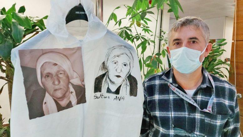 Vefat eden sağlık çalışanları anısına sergi
