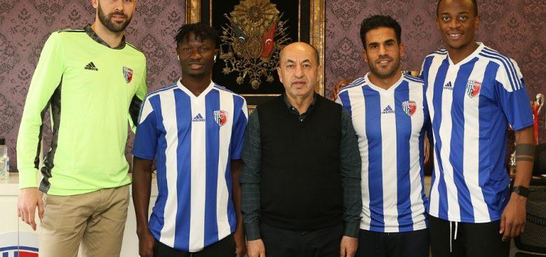 Ankaraspor'dan 4 transfer