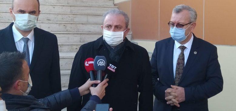 TBMM Başkanı Şentop'tan siyasilere aşı çağrısı