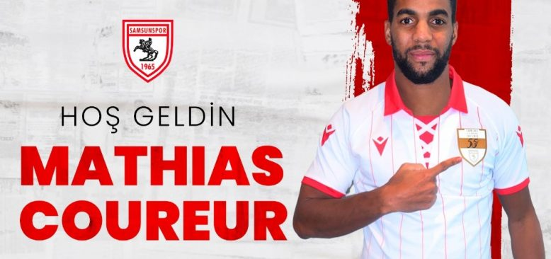 Mathias Coureur Samsunspor'da