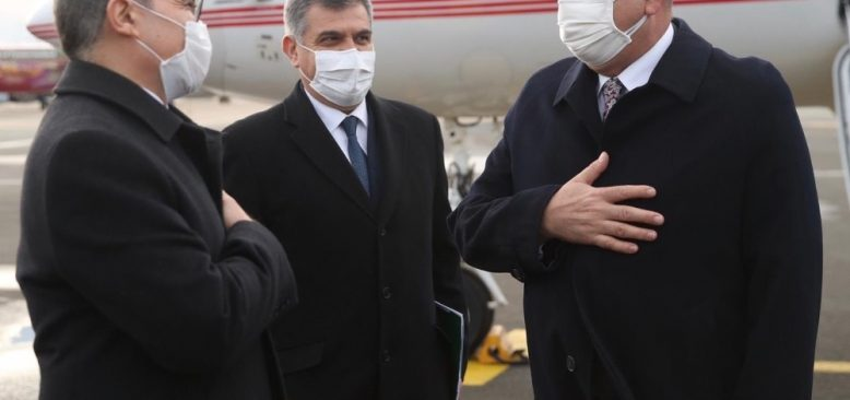 Bakan Çavuşoğlu, Belçika'ya gitti