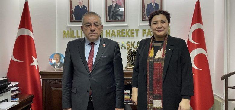 AK Parti Kırşehir İl Başkanı Seher Ünsal'dan Cumhur İttifakı mesajı