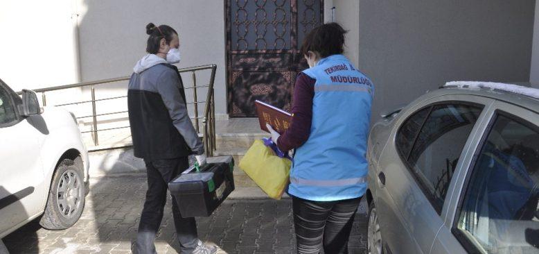 Tekirdağ'da 75 yaş üzeri vatandaşların aşılanmasına başlandı