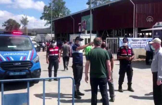 22 kişiye 46 bin 350 lira ceza