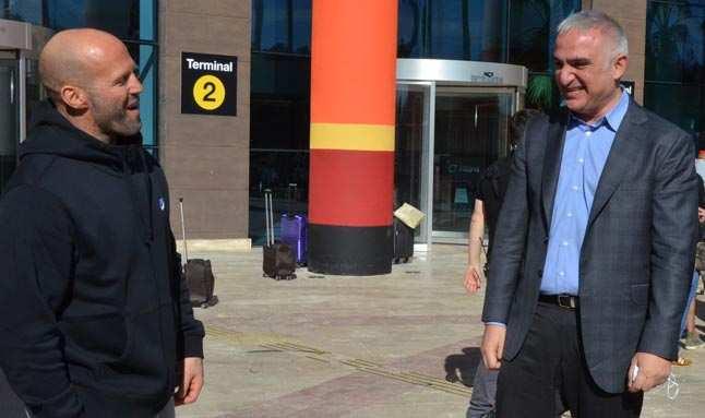 Bakan Mehmet Nuri Ersoy'dan Five Eyes' filminin çekimlerini izledi
