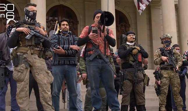 ABD'nin silahlı aşırı sağcı gruplarla başı dertte! Şimdi de boogaloo boys'lar çıktı!