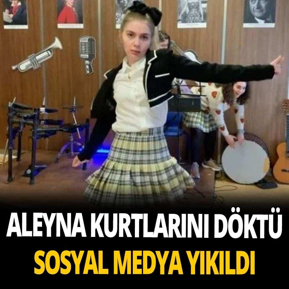 Aleyna Tilki'den set arasında Ankara oyun havası molası