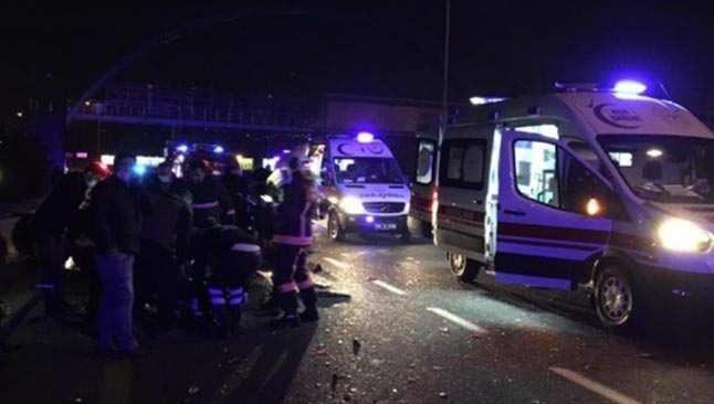 Ankara-İstanbul yolunda feci kaza