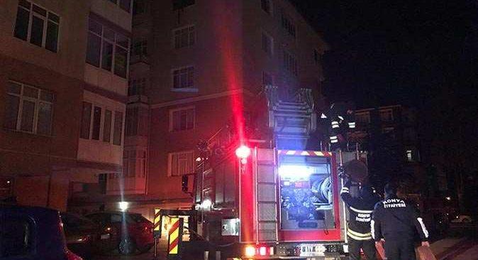 Yangında anne ve kızı hayatını kaybetti