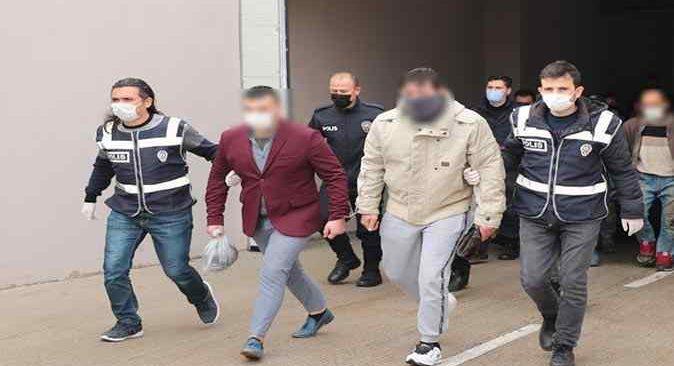 Antalya'da eş zamanlı operasyon! 103 şüpheli yakalandı