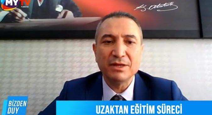 Antalya İl Milli Eğitim Müdürü Hüseyin Er açıkladı! 10 Bin'in üzerinde tablet dağıtıldı